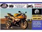 2016 Yamaha YZF-R6 Yellow Anniversary Edition