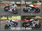 2009 Yamaha YZF R6 White Pearl / Red
