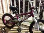 14 Inch Girls Bike - (Tony Hawk )with Dora Helmet - $60 (MANCHESTER CT)