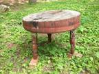 Antique Round Chopping/Meat Block