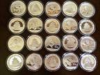 Details about �Twenty 2014 1 oz Chinese Panda .999 Fine Silver Coins