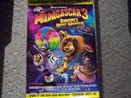 "Details about �MADAGASCAR 3 EUROPE'S MOST WANTED MOVIE POSTER "" NEW"""