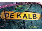 Vintage DEKALB Weathervane (flying corn on the cob).
