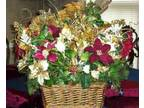 Christmas Basket Centerpiece - $75 (Toney)
