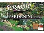 Garden SCRABBLE Game NEW -