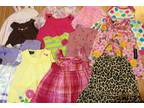 Lots of baby girl clothes! Sz 0-3 thru 18m -