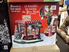 Santa Toy Shop with Led Lamps -