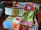Baby Bedding and Room Decor (boy or girl) - $75 (Boulder, MT)