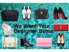 We Buy Designer Clothing, Handbags & Accessories, Pay top $$$