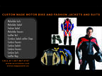 Leather jacket,Bags,gloves etc custom made -