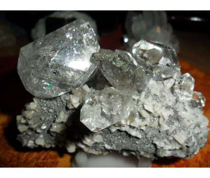 Gorgeous and Beautiful Benchmark Quarry Large Herkimer Diamond Quartz Crystal Cl is a Collectibles for Sale in New York NY