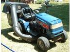 Dependable Riding Lawn Mower with Grass Catcher/Bagger