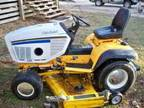 cub cadet ind. garden tractor - $2200 (saraland,mobile)