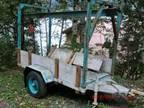 Equipment Trailer with hoist - $500 (Juneau)