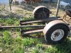 lawn mower trailer - $75 (Albany)