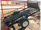 New 4X8 ATV Trailer w/Tilt Ram