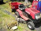yard machine and trailer - $150 (west end allentown)