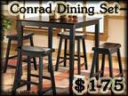 New Table Sets@Aam&F Are Amazing&Amazingly Low Prices✪ -