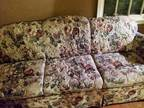 Floral Couch -