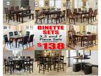 Best prices in town on all your furniture needs!!