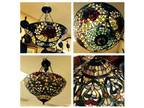 Upscale Furniture & Tiffany Style Stainglass a Lamps/Lights