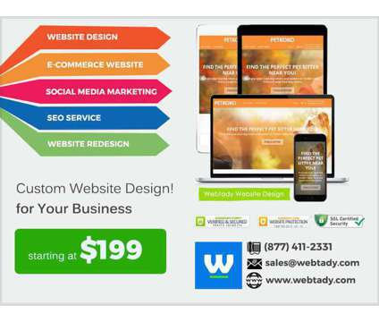Custom business website for small business owners is a Computer Setup & Repair service in Beverly Hills CA