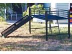 Loft Bed with Slide - $150 (Lawrence)