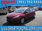 2017 Ford Focus Red