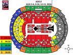 LA STAPLES Aug 10 ADELE FLOOR5 SEATS!!