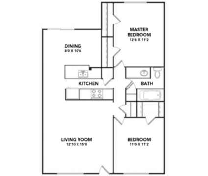 2 Beds - Magnolia Greens at 3311 Sw H.k Dodgen Loop in Temple TX is a Apartment