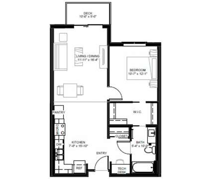 1 Bed - East Side Apartments at 1256 Wilson Avenue in Saint Paul MN is a Apartment