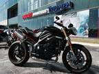2012 Triumph Speed Triple - Phantom Black