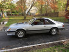 1982 Gray Ford Mustang
