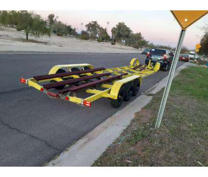 Tri Axel Boat Trailer 8 Log 7000lb Each Axle Total of 35feet is a 2018 Boat Trailer in Phoenix AZ