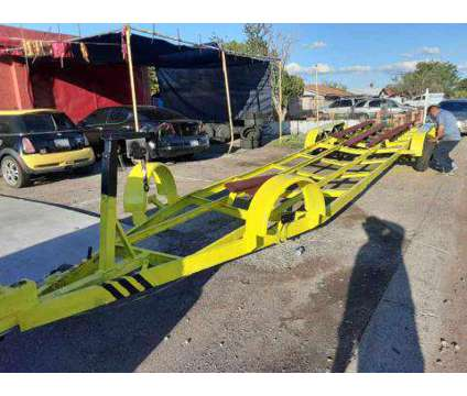 Tri Axel Boat Trailer 8 Log 7000lb Each Axle Total of 33feet is a 1967 Boat Trailer in Phoenix AZ