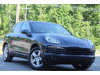 2012 Dark Blue Metallic Porsche Cayenne