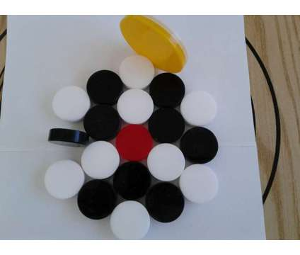 carrom board Coins is a Black, White Sports Memorabilias for Sale in Glendale Heights IL