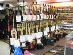 A large number of Drums, Instruments and Amplifiers!