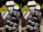ALL BRAND NEW Taylormade Rocketballz & Tour Edge Complete Golf Set -