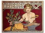 Trademark Fine Art 35 in. x 47 in. Waverly Cycles Canvas Art