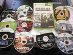 XBOX 360 game lot Metal Gear Solid HD, Call of Duty, Gears of War etc -