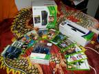 250GB Xbox 360, Kinect, and games -