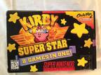 Kirby Superstar, Super Nes Complete in Box -