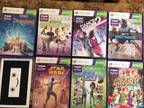 Xbox 360, Kinect, controllers, 31 games! -