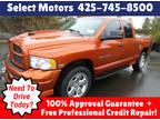 2005 Orange Dodge Ram Pickup 1500
