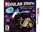 Regular Show: Mordecai & Rigby in 8-Bit Land Nintendo 3DS Game -