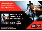 Battleground 4 Laptop Edition Sport Signal - BF4 - (AMD Promotion Instant Sport