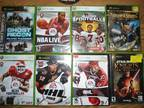 Xbox 360 console Games 12 games in case and 1 no case -