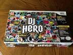 Like new$70 dj hero video game for wii game included - $40