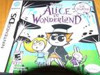 Nintendo DS game Alice in wonderland -